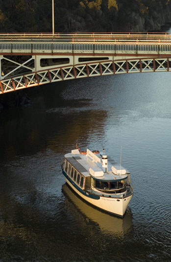 Cataract Gorge Cruises explores the Tamar Valley Cataract Gorge Old Launceston Seaport and Launceston Riverfront Precinct